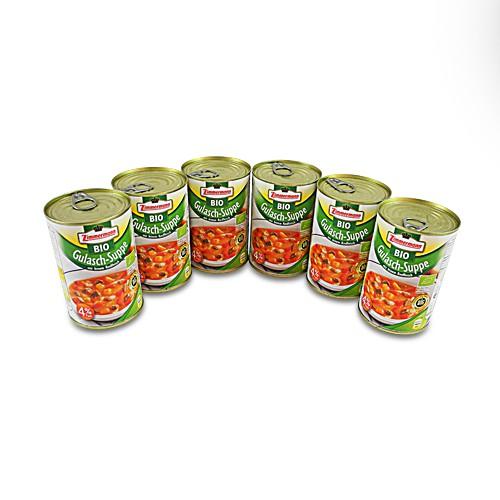 BIO Gulasch - Suppe 6er Pack (6 Dosen à 400 ml)